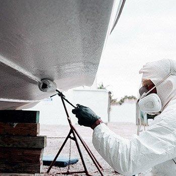 yacht bottom paint service