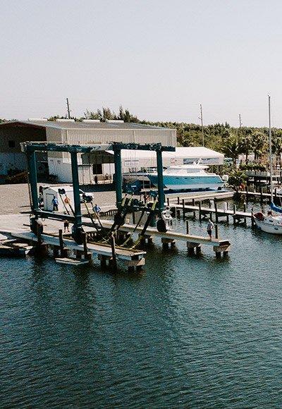 coastal marine boat basin