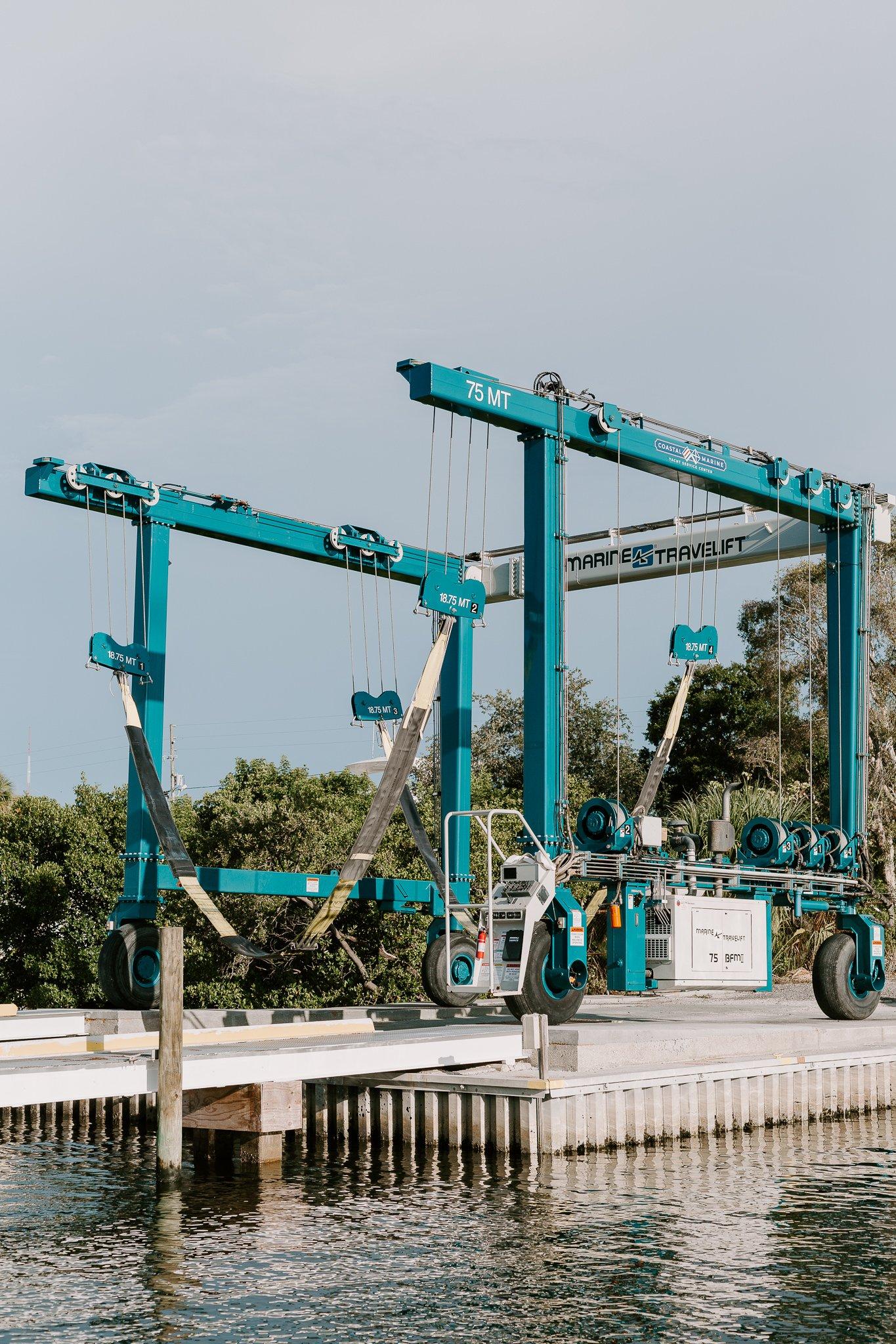75 ton marine travel lift